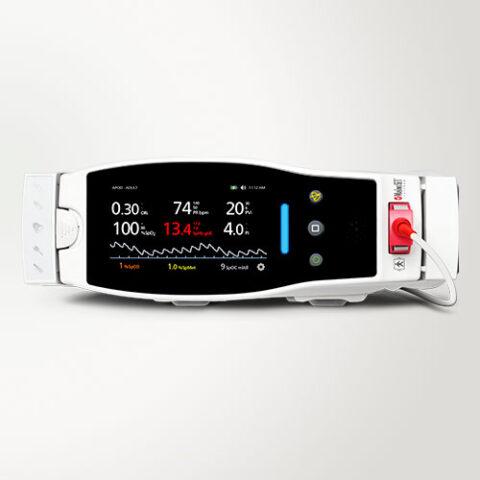 Radical 7 – Oxímetro de pulso LCD Touchscreen